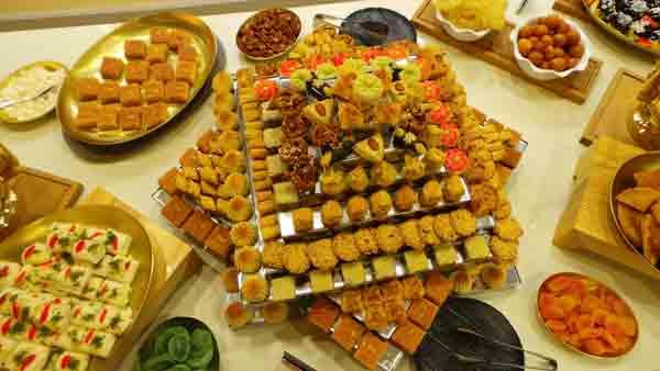 تزيين وترتيب الطاولة في العيد 1