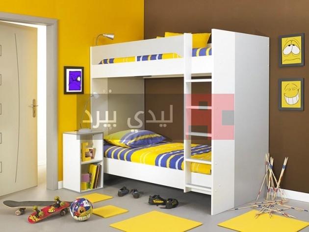 غرف نوم أطفال بسلالم 1