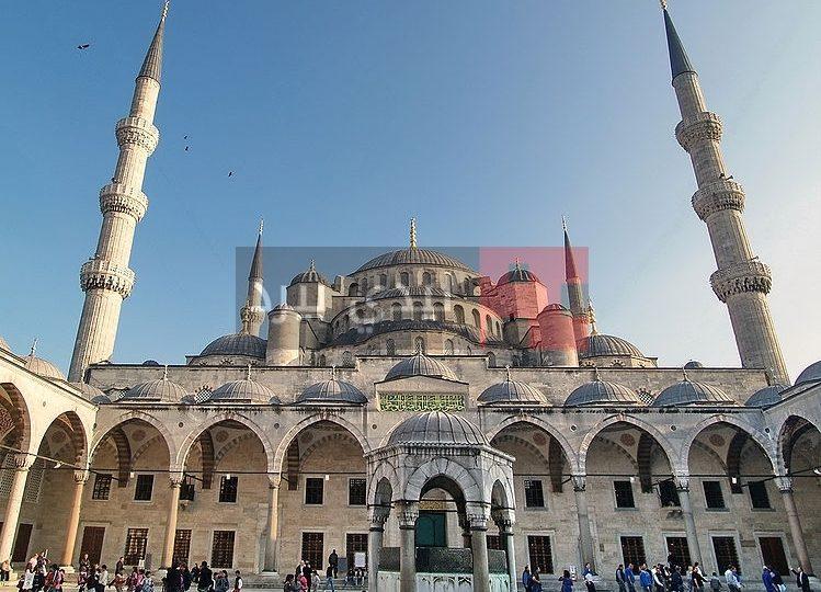 اين يوجد المسجد الازرق ليدي بيرد