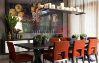 ثريات غرف طعام بشكل شموع 4