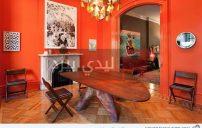 غرف طعام برتقالية 2