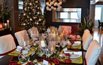 تزيين طاولة حفلات عيد الكريسماس 5