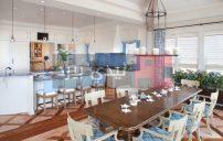 غرف طعام باللون الازرق الفاتح 7