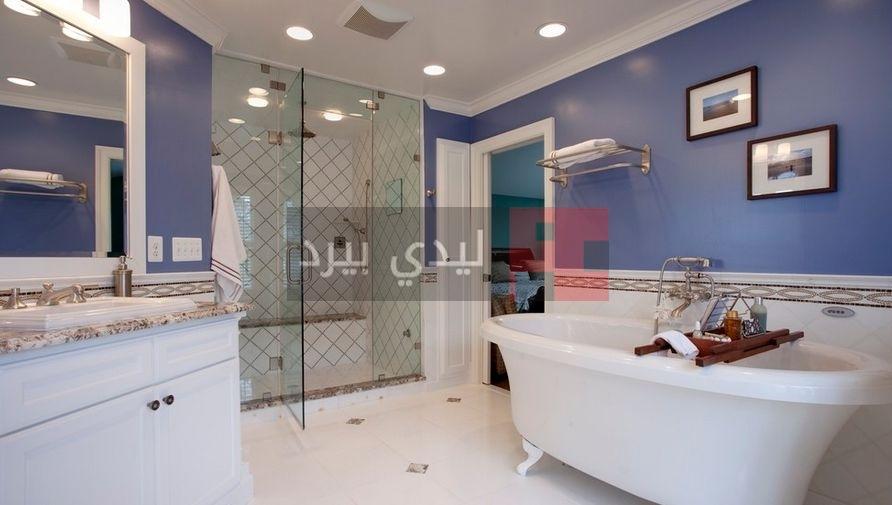 دهانات حوائط حمامات ملونة 3