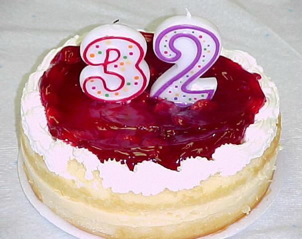 Поздравление на день рождение девушке 32 года