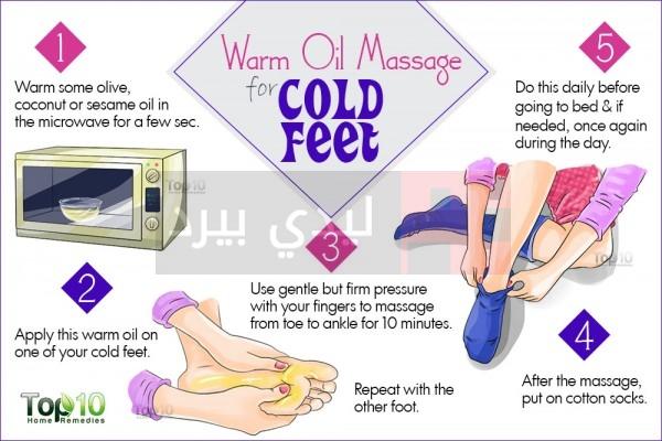cold-feet-Warm-Oil-Massage-600x400
