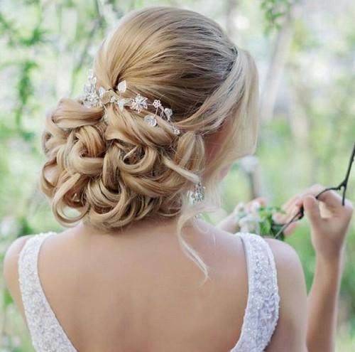 صور تسريحة العروسة
