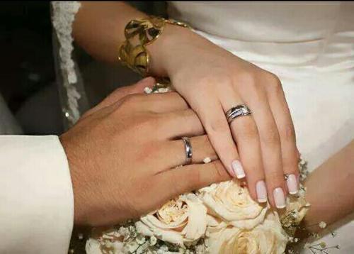 صور زواج رومانسية ايدي