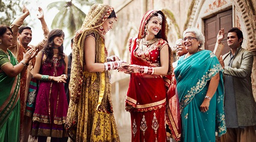 صور زواج رومانسية هندية