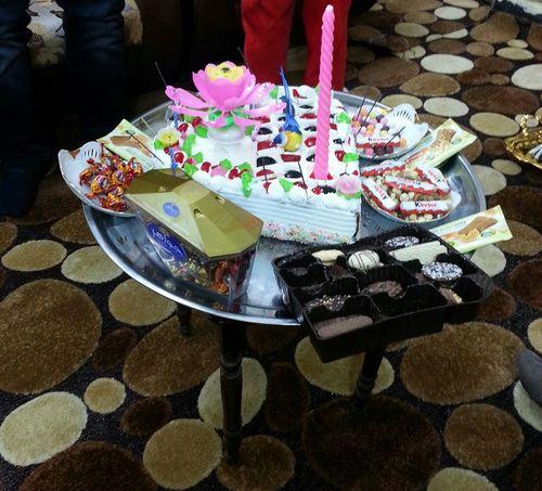 تورتة عيد ميلاد عربية
