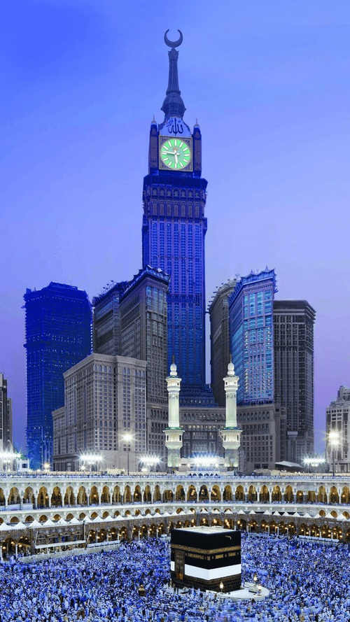 صور برج الساعة والكعبة