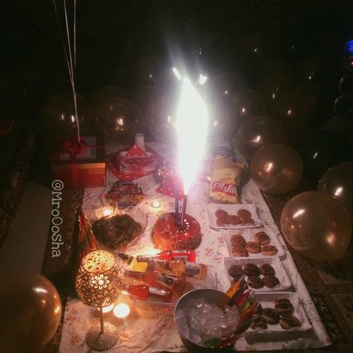 صور حفلة عيد ميلاد زوجي