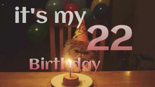 صور عيد ميلاد 22 سنة