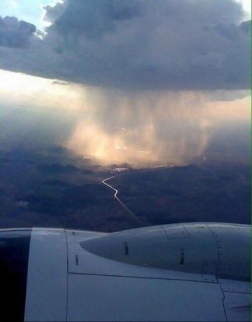 صور مطر من الطارة