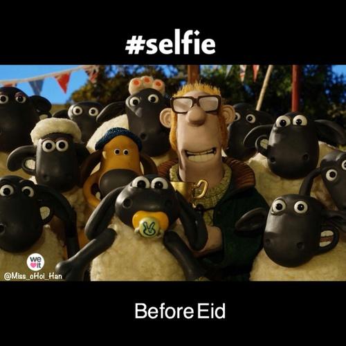 خروف العيد تضحك