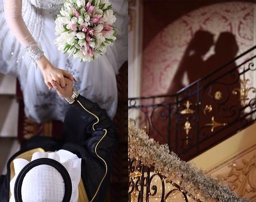 صور زفاف ليدي بيرد