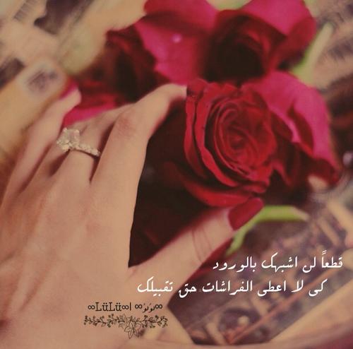 كلام جميل على صور رومانسية 46