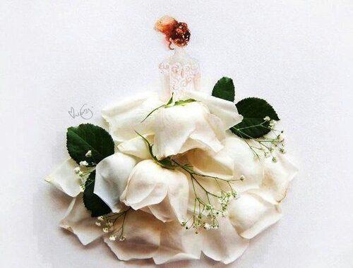 رمزيات رومانسية للعروسة 49