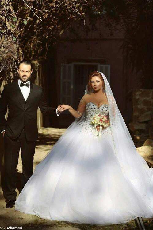 صور رومانسية في يوم الزفاف 48