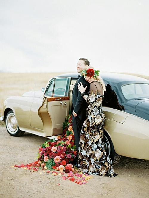 صور رومانسية في يوم الزفاف 49