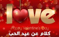 كلام عن عيد الحب 2