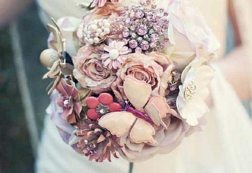 صور بوكيهات ورد للعروسة 4