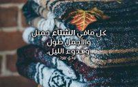 كلمات عن جمال الشتاء 2