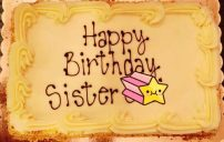 رسائل عيد ميلاد الاخت بالانجليزي 1