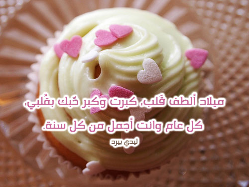 كلمات لعيد ميلاد حبيبي 1