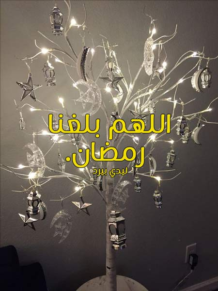 رسائل رمضان 2020 عبارات تهنئة وصور رمضانية 3
