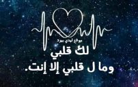 عبارات انت قلبي 1
