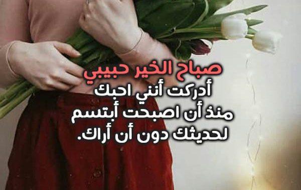 19f0eda4c اجمل كلمات صباحية للحبيب - ليدي بيرد