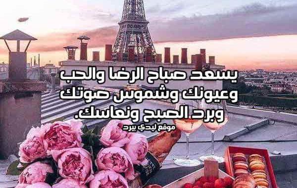 89953a0af اجمل كلمات صباح الحب - ليدي بيرد