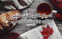 عبارات صباح الخير يا حبيبي 1