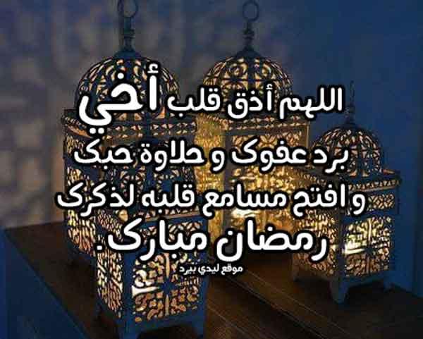 دعاء رمضان للاخ ليدي بيرد