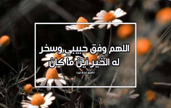اللهم وفقه دعاء لشخص تحبه بالتوفيق