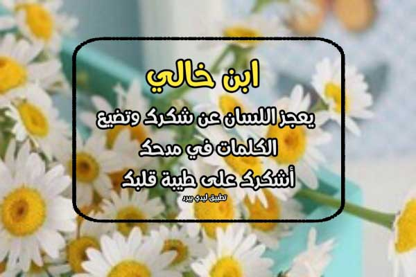 رسائل مدح ابن خالي